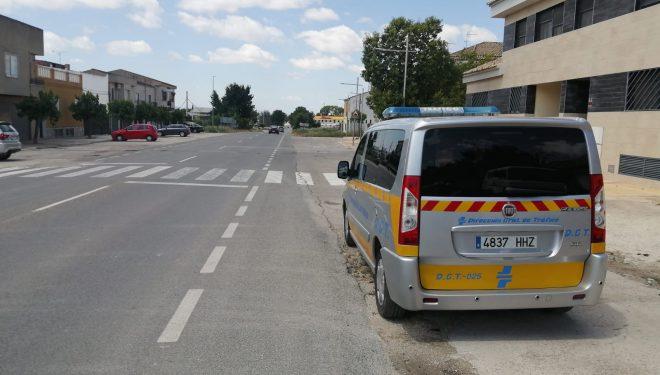 La Policía Local inicia una campaña de controles de velocidad con el vehículo radar de la DGT