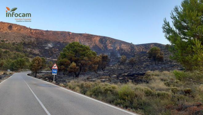 Estabilizado el incendio de Agramón