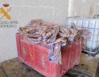 Hellín una de las ciudades afectadas por el robo de una tonelada de cable de cobre  telefónico