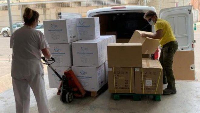 Nuevo envío del SESCAM de material de protección contra el coronavirus para la provincia de Albacete