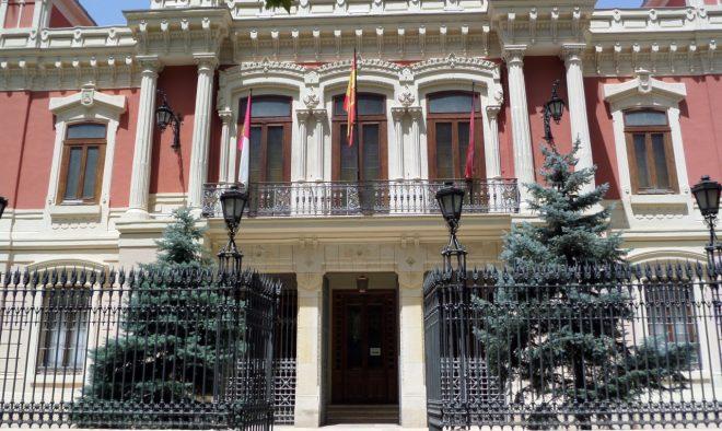 Palacio de la Diputación de Albacete.