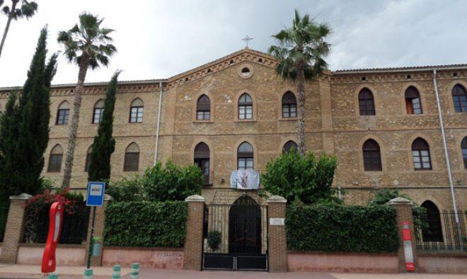 Seminario Menor San José, en Murcia, obra de Justo Millán (archivo del autor)