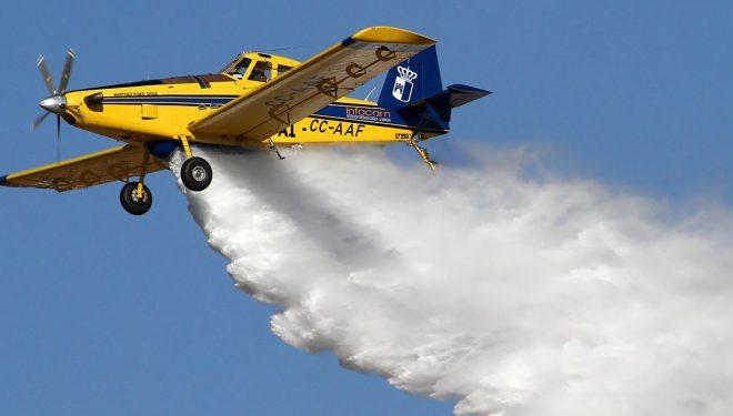 Trasladado a Carcelén el avión contra incendios que tenía el GEACAM ubicado en Ontur