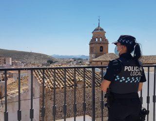 88 actuaciones de la Policía Local durante el Operativo de Semana Santa