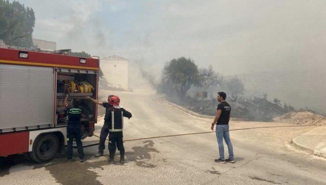 Dos hombres detenidos como presuntos autores de los incendios en la zona de El Calvario