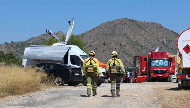 El incendio de Férez estabilizado a últimas horas de la tarde de ayer y pasa a Situación Operativa de Nivel 0