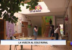 El Colegio Rural Agrupado (CRA) Rio Mundo protagonista del Telediario de la 1 de TVE