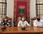 Reunión de la consejera de Bienestar Social con los responsables de los centros de discapacidad del municipio