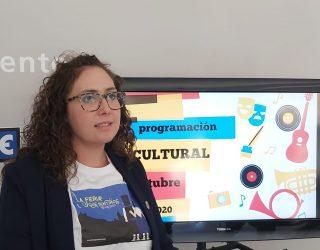 Octubre llega con una variada programación cultural