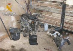 Localizado un taller mecánico clandestino en Hellín