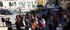 Concentración en memoria de Mari Cielo Cañavate  en la Plaza de la Iglesia