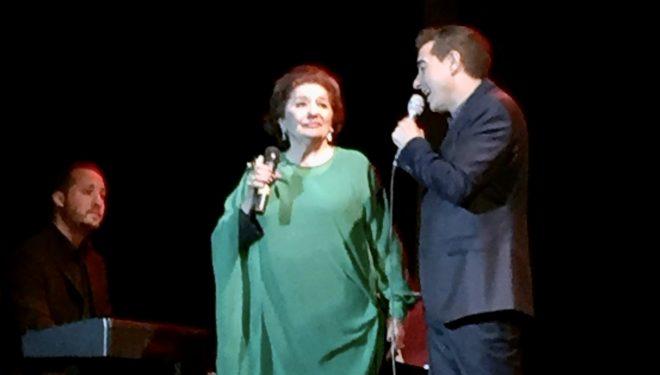 Muere Dolores Abril, la cantante hellinera, mujer de Juanito Valderrama