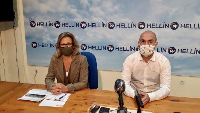 Lola Merino critica la mala gestión de Page en las obras de remodelación del Hospital Comarcal
