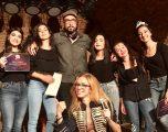 La hellinera Marta Martínez, ganadora del concurso de música organizado por el Teatro Off