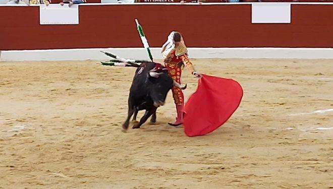 Diego Carretero triunfador del festejo taurino de Tobarra