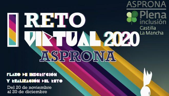 """ASPRONA pone en marcha """"El I Reto Virtual"""""""