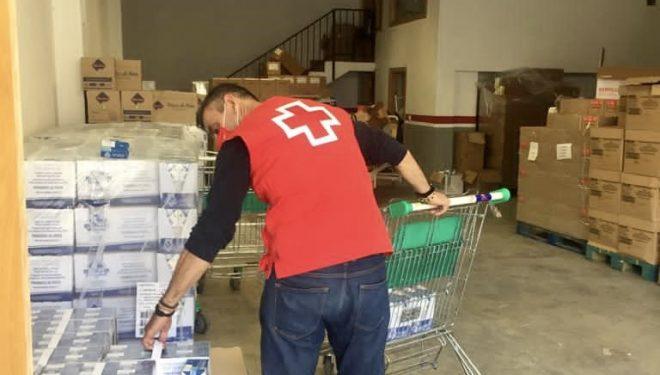 Cruz Roja en Hellín ha distribuido la pasada semana 13.407 kilos de alimentos entre personas vulnerables de nuestro municipio