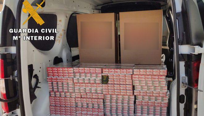 Intervenidas 3.000 cajetillas de tabaco sin precinto fiscal en el término municipal de Hellín