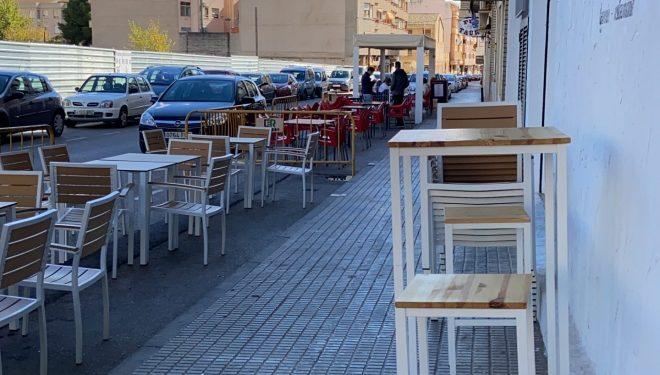 Cambio de horario de cierre de bares y restaurantes y sus terrazas al aire libre