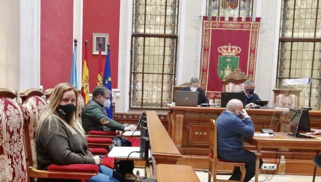 El pleno rechaza la moción de Ciudadanos que pedía más iluminación y vigilancia en el Jardín Martínez Parras