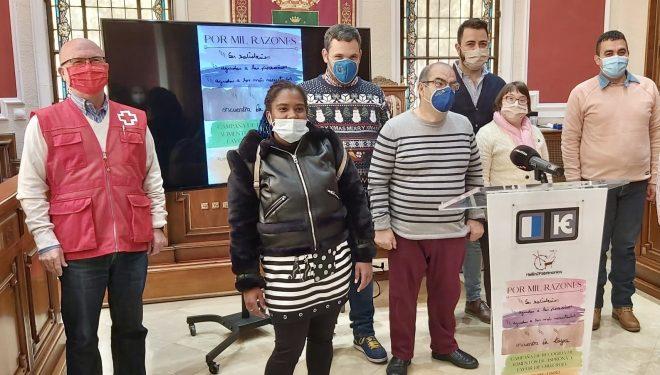 """Con el lema """"Por mil razones"""" Cruz Roja y ASPRONA inician una campaña de recogida de alimentos"""