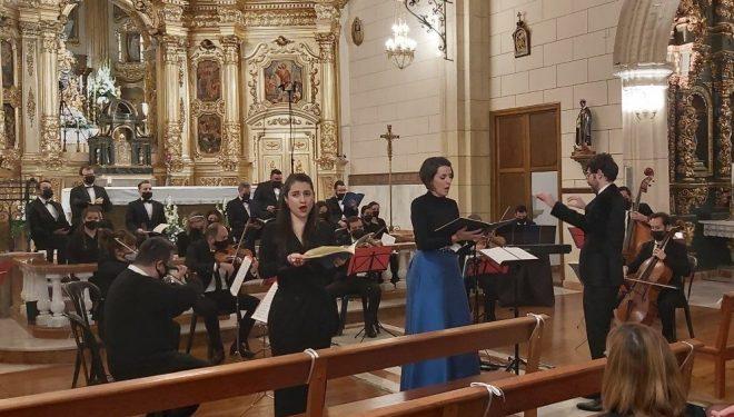 AMAO y la Orquesta Orfeo con el concierto Gloria-Mesías, en el convento de los Franciscanos