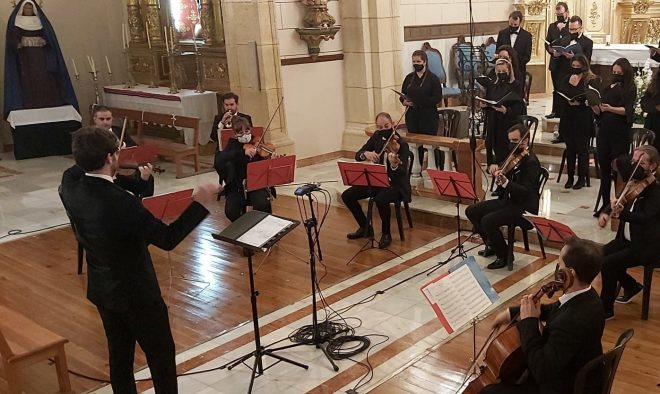 AMAO y la Orquesta Orfeo con el concierto Gloria-Mesías.