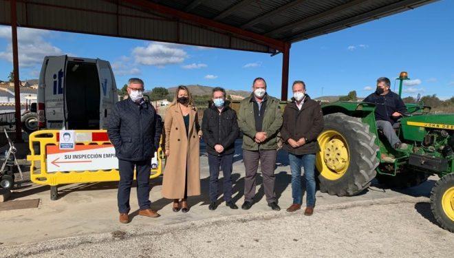 El Gobierno regional y el Ayuntamiento de Hellín agradecen la labor itinerante de la ITV Albacete SGS en defensa del sector agrario y la seguridad vial
