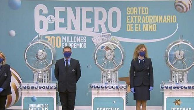 """La suerte volvió a mostrarse esquiva en el sorteo de la Lotería nacional de """"El Niño"""""""