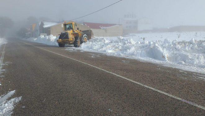 El Gobierno regional distribuye más de 250 toneladas de sal en tratamientos preventivos en la red autonómica de carreteras de la provincia de Albacete