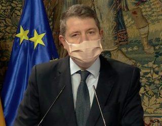 Emiliano García Page ha anunciado que la región adelanta el toque de queda a las 10 de la noche