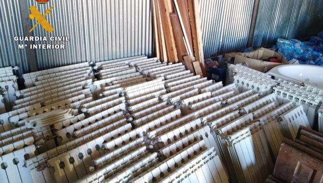 Detenidas cuatro personas dedicadas al robo con fuerza del mobiliario instalado en viviendas en fase de construcción