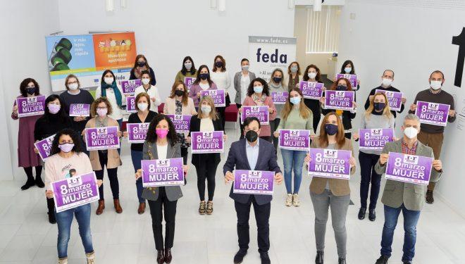 FEDA reivindica la igualdad laboral entre hombres y mujeres