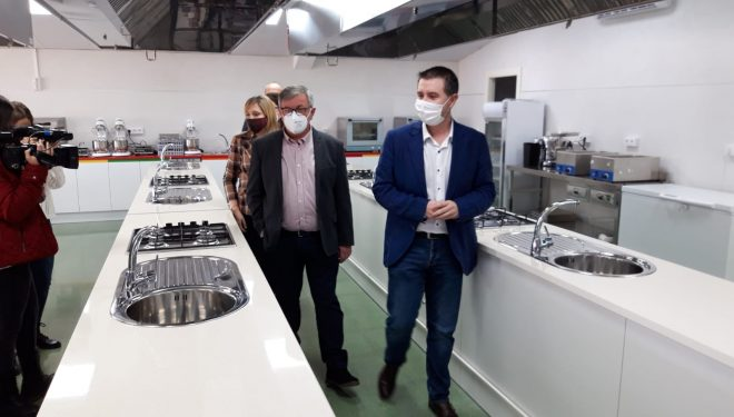 La Diputación y los fondos europeos del EDUSI invierten 376.000 euros en el Centro de Formación de Hellín