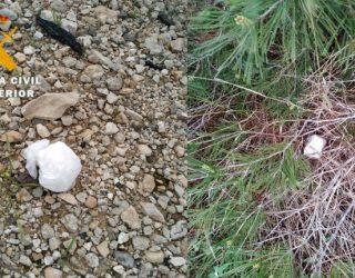 Detenidas tres personas e incautados 158,5 gramos de cocaína en el termino municipal de Hellín
