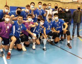 """El Club Voleibol """"Ciudad de Hellín"""" Campeón de Castilla-La Mancha"""