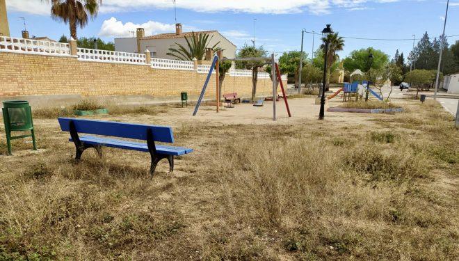 El PP pide al gobierno socialista que adecente el parque de Mingogil
