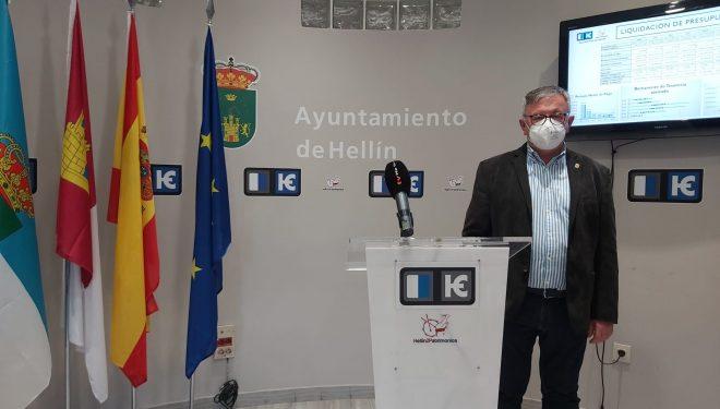 Ramón García, se muestra optimista tras la liquidación del presupuesto del ejercicio del año 2020