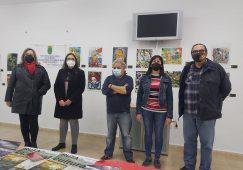 Inaugurada la ExpoMundo en el centro social de la pedanía de Las Minas
