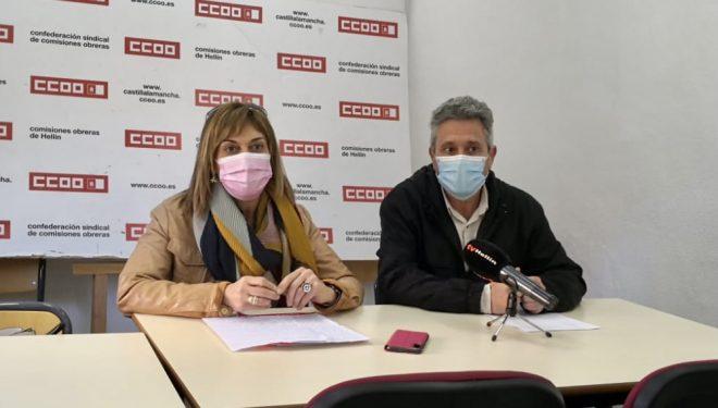 Mari Carmen Juste anuncia su presentación a la reelección como secretaria provincial de  CC.OO