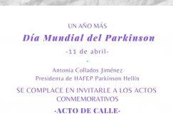 Actos para conmemorar el Día Internacional del Parkinson