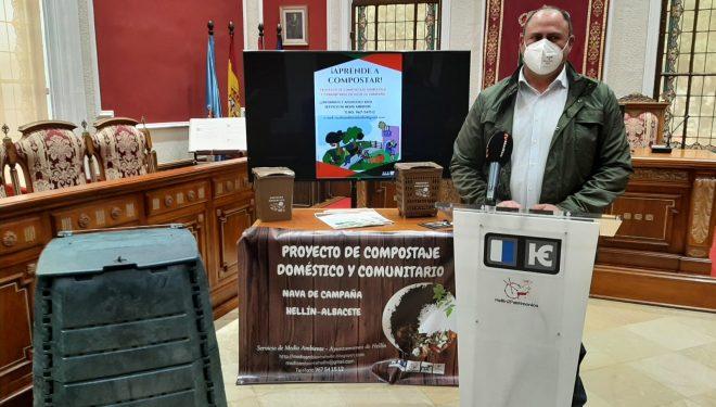 Medioambiente pone en marcha un proyecto de compostaje doméstico y comunitario