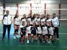 """Sendas victorias de los equipos juveniles femeninos de voleibol """"Ciudad de Hellín"""""""