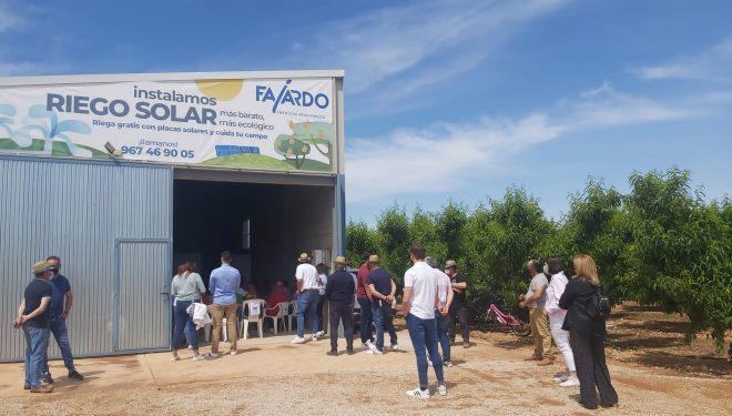 Jornada de información sobre implantación de riego solar en los Campos de Hellín