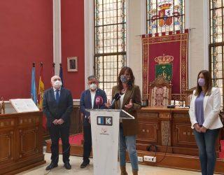 La consejera de Igualdad, Blanca Fernández, pide en Hellín la abolición de la prostitución en palabras dirigidas a la ministra Irene Montero
