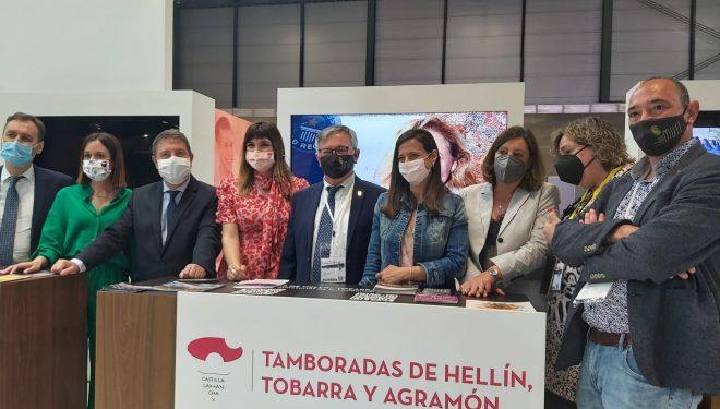 Hellín protagonista en la apertura del stand del pabellón de Castilla-La Mancha