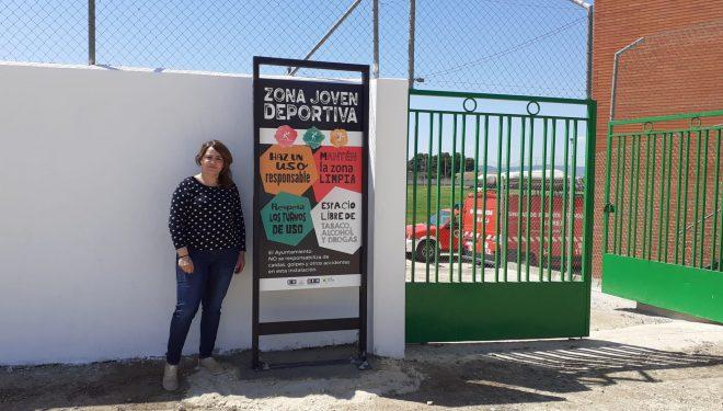 El Ayuntamiento adecúa y amplía sus zonas deportivas con la nueva Zona Joven Deportiva