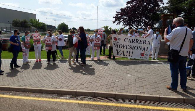 Los trabajadores de la Sanidad Pública de CLM, advierten de la posibilidad de ir a la huelga