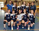 Los equipos del voleibol hellinero preparados para jugar el campeonato nacional