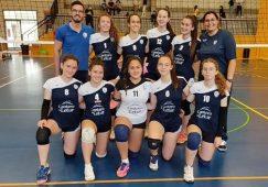 """El CV Ciudad de Hellín Cadete femenino """"A"""" se clasificó para las semifinales del campeonato de Castilla-La Mancha"""